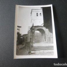 Fotografía antigua: LA ALBERCA SALAMANCA ANTIGUA FOTOGRAFIA 7,5 X 10,5 CMTS. Lote 216354145