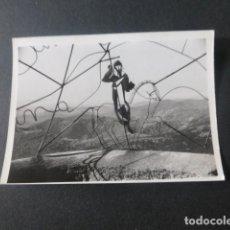 Fotografía antigua: SANTUARIO DE LA PEÑA DE FRANCIA SALAMANCA ANTIGUA FOTOGRAFIA 7,5 X 10,5 CMTS. Lote 216354291
