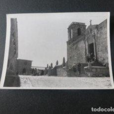 Fotografía antigua: SANTUARIO DE LA PEÑA DE FRANCIA SALAMANCA ANTIGUA FOTOGRAFIA 7,5 X 10,5 CMTS. Lote 216354310