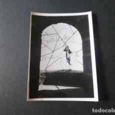 Fotografía antigua: SANTUARIO DE LA PEÑA DE FRANCIA SALAMANCA ANTIGUA FOTOGRAFIA 7,5 X 10,5 CMTS. Lote 216354335