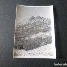 Fotografía antigua: SANTUARIO DE LA PEÑA DE FRANCIA SALAMANCA ANTIGUA FOTOGRAFIA 7,5 X 10,5 CMTS. Lote 216354353