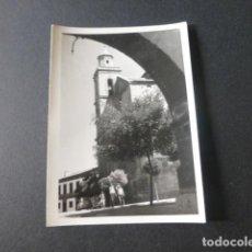 Fotografía antigua: SAN MARTIN DE VALDEIGLESIAS MADRID ANTIGUA FOTOGRAFIA 7,5 X 10,5 CMTS. Lote 216354480