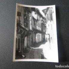 Fotografía antigua: LA ALBERCA SALAMANCA ANTIGUA FOTOGRAFIA 7,5 X 10,5 CMTS. Lote 216354677