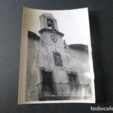 Fotografía antigua: ATIENZA GUADALAJARA ANTIGUA FOTOGRAFIA 7,5 X 10,5 CMTS. Lote 216354805