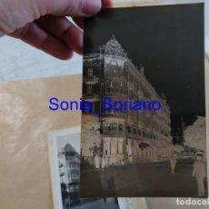 Fotografia antica: VALENCIA - HOTEL REINA VICTORIA Y CALLE BARCAS - NEGATIVO CELULOIDE. 15 X 10 CM. FOTOGRAFO ARRIBAS. Lote 216364342