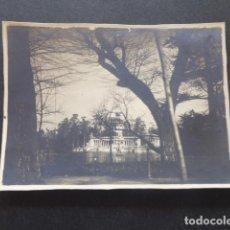 Fotografía antigua: MADRID EL RETIRO ANTIGUA FOTOGRAFIA 8 X 11 CMTS. Lote 216410486