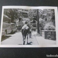 Fotografia antica: LAS PALMAS DE GRAN CANARIA PARQUE DE SANTA CATALINA ANTIGUA FOTOGRAFIA 7,5 X 10,5 CMTS. Lote 216471361