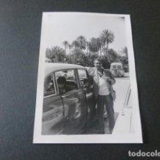 Fotografia antica: GRAN CANARIA MASPALOMAS ANTIGUA FOTOGRAFIA 7,5 X 10,5 CMTS. Lote 216669856