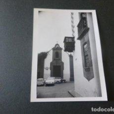 Fotografia antica: LAS PALMAS DE GRAN CANARIA ANTIGUA FOTOGRAFIA 7,5 X 10,5 CMTS. Lote 216670742