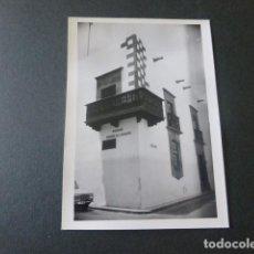 Fotografia antica: LAS PALMAS DE GRAN CANARIA CASA DE COLON ANTIGUA FOTOGRAFIA 7,5 X 10,5 CMTS. Lote 216670896
