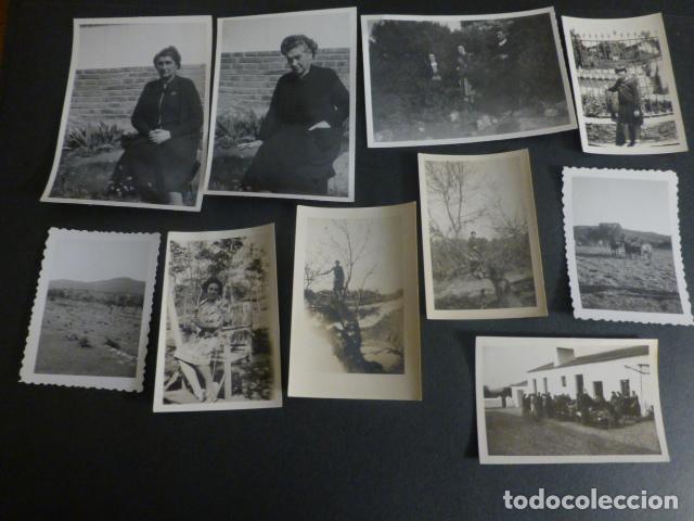 Fotografía antigua: CORTIJO DE FERNAN-SANCHEZ CACERES CONJUNTO 35 FOTOGRAFIAS 1910 A 1940 - Foto 3 - 217176860