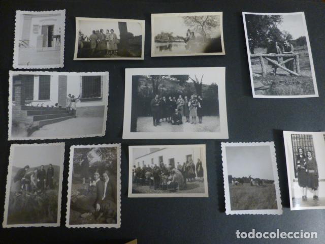 Fotografía antigua: CORTIJO DE FERNAN-SANCHEZ CACERES CONJUNTO 35 FOTOGRAFIAS 1910 A 1940 - Foto 4 - 217176860