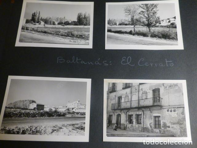 BALTANAS PALENCIA 16 ANTIGUAS FOTOGRAFIAS 7 X 10 CMTS (Fotografía Antigua - Gelatinobromuro)