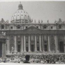 Fotografía antigua: ROMA LOTE DE 5 FOTOGRAFIAS 7,5 X 10 CM.. Lote 218179611
