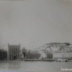 Fotografía antigua: LISBOA LOTE DE 3 FOTOGRAFIAS 7,5 X 10 CM.. Lote 218180318