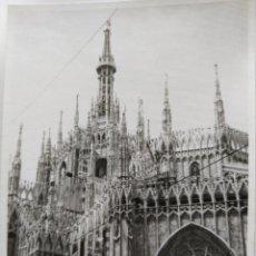 Fotografía antigua: MILAN TAMAÑO 7,5 X 10 CM.. Lote 218181288
