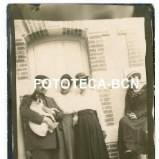 Fotografía antigua: FOTO ORIGINAL SAN SEBASTIAN DONOSTIA MILITAR CON PERRO ALTA BURGUESIA AÑO 1919. Lote 218196587