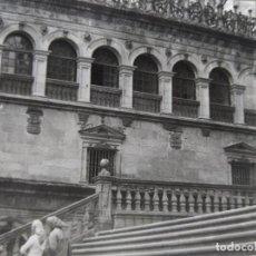 Fotografía antigua: SANTIAGO LOTE DE 4 FOTOGRAFIAS TAMAÑO 7,5 X 10 CM.. Lote 218302251