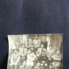 Fotografía antigua: FOTOGRAFÍA DE ALUMNOS DEL COLEGIO DE SAN JOSÉ DE VALLADOLID. 1949. Lote 218825446