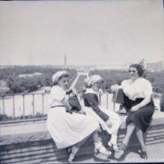 Fotografía antigua: ZARAGOZA 1952 NEGATIVO CELULOIDE TAMAÑO 6 X 6 CM.. Lote 219337938
