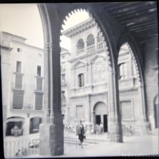 Fotografía antigua: ALCAÑIZ 1952 NEGATIVO CELULOIDE TAMAÑO 6 X 6 CM.. Lote 219338218