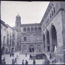 Fotografía antigua: ALCAÑIZ 1952 NEGATIVO CELULOIDE TAMAÑO 6 X 6 CM.. Lote 219338230