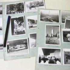 Fotografía antigua: LOTE DE 35 FOTOGRAFÍAS DE MADRID Y ALREDEDORES DE LOS AÑOS 60. Lote 221391775
