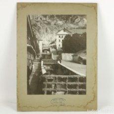 Fotografía antigua: BALNEARIO DE PANTICOSA - FOTO: ENRIQUE BELTRAN, ZARAGOZA. 1915'S. FOTO: 17,5X24CM.. Lote 221499646