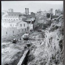 Fotografía antigua: BARCELONA CONSTRUCCIÓN DEL TUNEL VILAPICINA-PLAZA IBIZA TAMAÑO 18 X 24 CM.. Lote 221672717