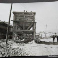 Fotografía antigua: BARCELONA CONSTRUCCIÓN DEL TUNEL VILAPICINA-HORTA TAMAÑO 18 X 24 CM.. Lote 221672772