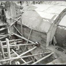 Fotografía antigua: BARCELONA CONSTRUCCIÓN DEL TUNEL VILAPICINA-HORTA TAMAÑO 18 X 24 CM.. Lote 221672790