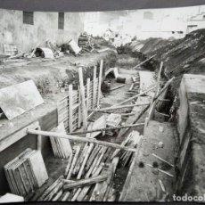 Fotografía antigua: BARCELONA CONSTRUCCIÓN DEL TUNEL VILAPICINA-HORTA TAMAÑO 18 X 24 CM.. Lote 221672800