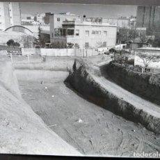 Fotografía antigua: BARCELONA CONSTRUCCIÓN DEL TUNEL VILAPICINA-HORTA TAMAÑO 18 X 24 CM.. Lote 221672858