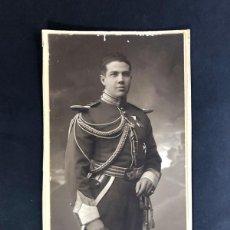 Fotografía antigua: D. CARLOS RAM DE VIU / VII CONDE DE SAMITIER / CABALLERO REAL MAESTRANZA DE ZARAGOZA. Lote 221687766