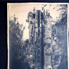 Fotografía antigua: LA GRAN NORIA DE CHIPRANA / CASPE / TORRE BAÑOS / GRAN FOTOGRAFIA SOBRE CARTON ( 33 X 24 ) ZARAGOZA. Lote 221691637