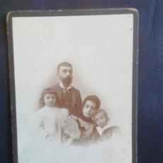 Fotografía antigua: FOTOGRAFÍA FAMILIAR POR COMPAÑY. MADRID. Lote 222312743