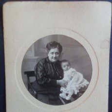 Fotografía antigua: FOTOGRAFÍA FAMILIAR POR PAVÓN. SEVILLA. 1916. Lote 222313177