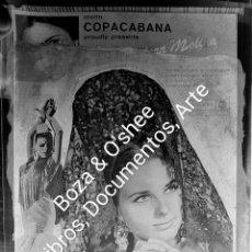 Fotografía antigua: BALLET ESPAÑOL DE PASTORA MOLINA. [1970 H.] GARD [PEPE GARDUÑO]. LOTE DE 9 NEGATIVOS, CELULOIDE.. Lote 222447748
