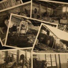 Fotografía antigua: COLECCIÓN DE 8 FOTOGRAFÍAS, RIADA INUNDACIÓN DE 1948. PÉREZ ROMERO. SEVILLA. CAMPO DE LOS MÁRTIRES.. Lote 222448292