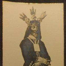 Fotografía antigua: ESTAMPA DE N. P. JESÚS CAUTIVO Y RESCATADO. PARROQUIA DE SAN ILDEFONSO, SEVILLA. 1930 H.. Lote 222448387