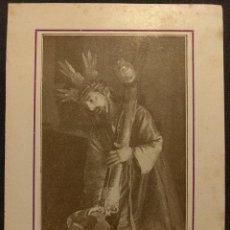 Fotografía antigua: ESTAMPA DE NRO. PADRE JESÚS DE LAS TRES CAÍDAS. PARROQUIA DE SAN ISIDORO. SEVILLA.. Lote 222448372