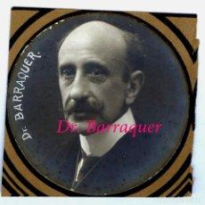 Fotografía antigua: DOCTOR - BARRAQUER - 1917 - BARCELONA. Lote 223952590