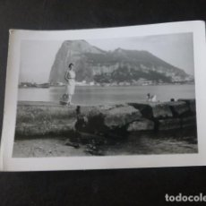 Fotografia antiga: ALGECIRAS CADIZ PEÑON DE GIBRALTAR ANTIGUA FOTOGRAFIA 7 X 1O CMTS. Lote 224776711