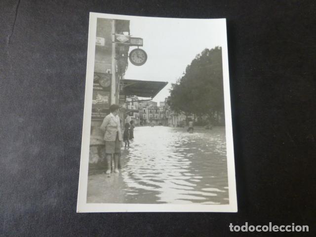 ORIHUELA ALICANTE INUNDACIONES FOTOGRAFIA ANTIGUA 5 X 7,5 CMTS (Fotografía Antigua - Gelatinobromuro)