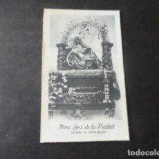 Fotografia antiga: SANTA OLALLA TOLEDO NUESTRA SEÑORA DE LA PIEDAD ANTIGUA FOTOGRAFIA 5 X 8 CMTS. Lote 224850616