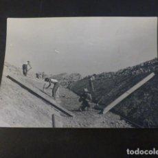 Fotografia antiga: PANTANO DE SANTA ANA CASTILLONROY HUESCA ALFARRAS LERIDA CONSTRUCCION FOTOGRAFIA 7 X 10 CMTS 1955. Lote 224951520