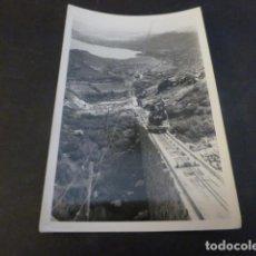 Fotografia antiga: RIBADELAGO ZAMORA OBRAS CONSTRUCCION PRESA DE LA VEGA DEL TERA FOTOGRAFIA 6 X 9 CMTS 1954. Lote 224953435