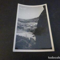 Fotografia antiga: RIBADELAGO ZAMORA OBRAS CONSTRUCCION PRESA DE LA VEGA DEL TERA VISTA FOTOGRAFIA 6 X 9 CMTS 1954. Lote 224953542