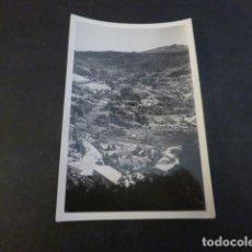 Fotografia antiga: RIBADELAGO ZAMORA OBRAS CONSTRUCCION PRESA DE LA VEGA DEL TERA VISTA FOTOGRAFIA 6 X 9 CMTS 1954. Lote 224953568