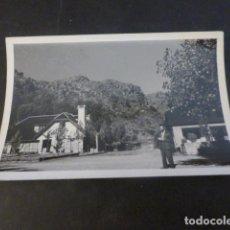 Fotografia antiga: RIBADELAGO ZAMORA OBRAS CONSTRUCCION PRESA DE LA VEGA DEL TERA RESIDENCIA FOTOGRAFIA 6 X 9 CMTS 1954. Lote 224953600